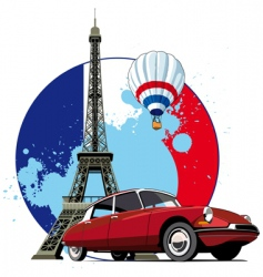 French style vector image