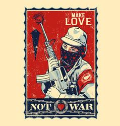 Not war vector