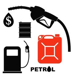 Petrol vector image