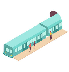 Subway station train composition vector