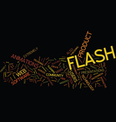 The lowdown on flash text background word cloud vector