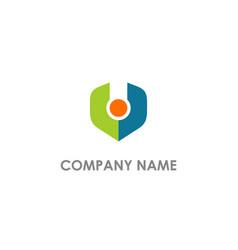 V initial abstract company logo vector