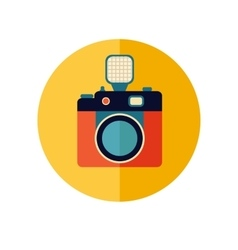 Vintage Photo Camera vector