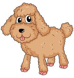 A furry pet vector image vector image