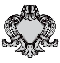 Antique emblem vector image