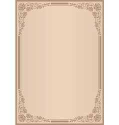 background for menu vector image vector image
