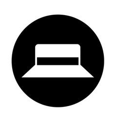 gardener hat isolated icon vector image