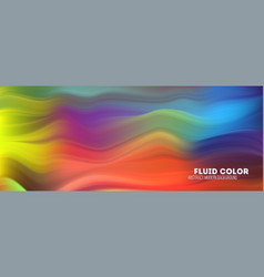 abstract flowing pattern stream colorful vector image