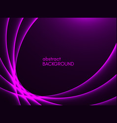 abstract purple background violet lines on dark vector image
