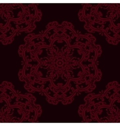 abstract seamless pattern with lace vector image