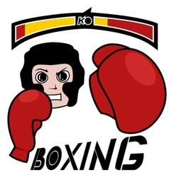 Boxing game vector