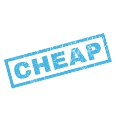 Cheap Rubber Stamp vector
