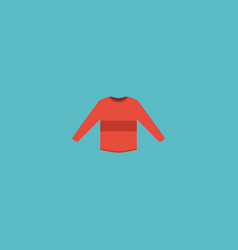 flat icon sweater element of vector image