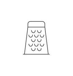 Food grater line icon outline vector