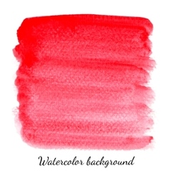 Hand drawn watercolor background for business vector image