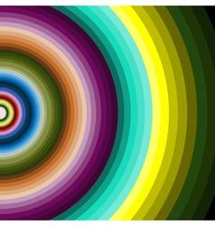 Multicolour circles vector