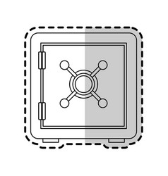 safe box icon image vector image