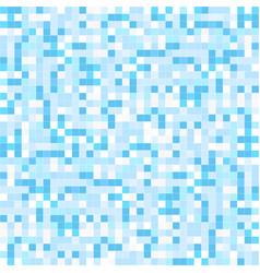 blue mosaic backgrund - seamless vector image