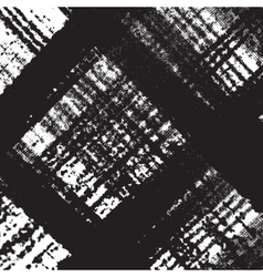 Checkered Distress Texture vector image vector image