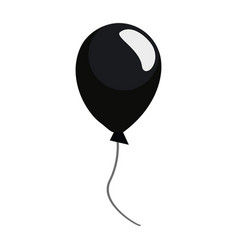 balloon decoration on white background vector image