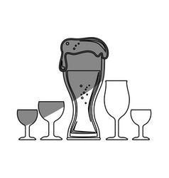 Beer drink design vector