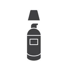 Concealer glyph icon vector