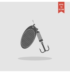 Fishing baits concept for vector image