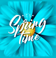 its spring time with beautiful vector image
