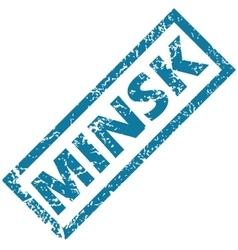 Minsk rubber stamp vector