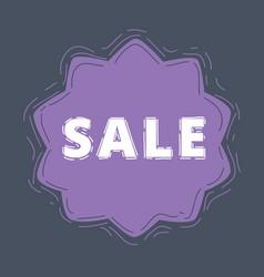 sale offer label vector image