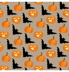 seamless background for halloween vector image