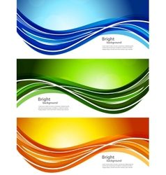set banners vector image