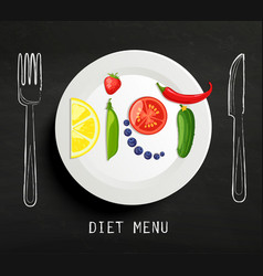 The concept of diet vector