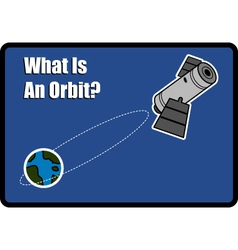 What is an orbit vector image