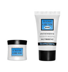 Anti-aging face creamhand cream moisturizing vector