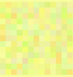 Background art colored green yellow squares vector