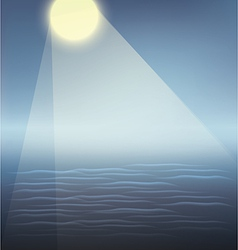 blue water surface vector image