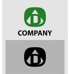 D Letter Logo Icon Design template Element vector