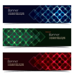 Horizontal Banner Set vector