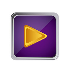 play button icon with background purple vector image