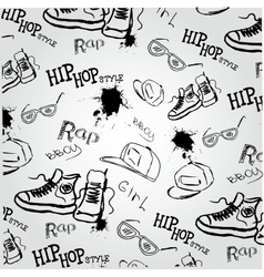 Hip hop style accessories vector