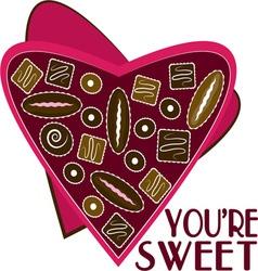 Youre Sweet vector image vector image
