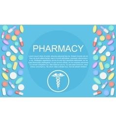Modern Flat design Medicine pharmacy healthcare vector image vector image