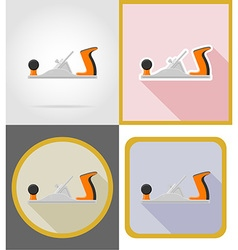 repair tools flat icons 01 vector image vector image