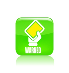 warning icon vector image