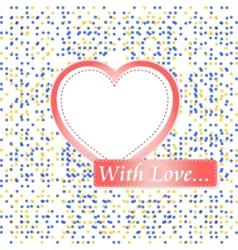 retro pastel mosaic vector image vector image