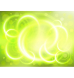 Soft focus green background vector image