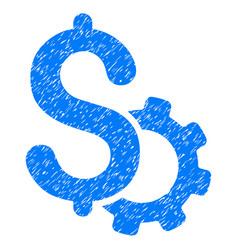 Development price grunge icon vector