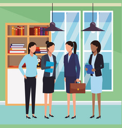 Executive business cartoon vector