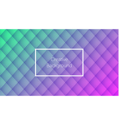 Geometric background with rhombic pattern vector
